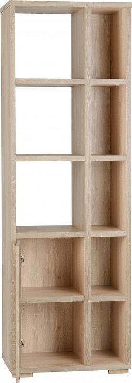 Cambourne 1 Door 5 Shelf Unit in Sonoma Oak Effect Veneer