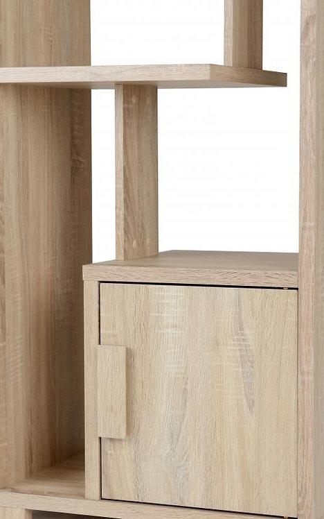 Cambourne 1 Door Display Unit in Sonoma Oak Effect Veneer