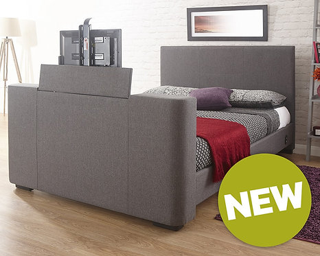 NEWARK Fabric TV Bedstead