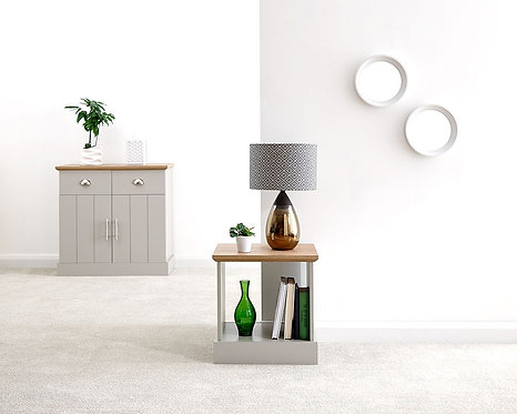 KENDAL Lamp Table grey