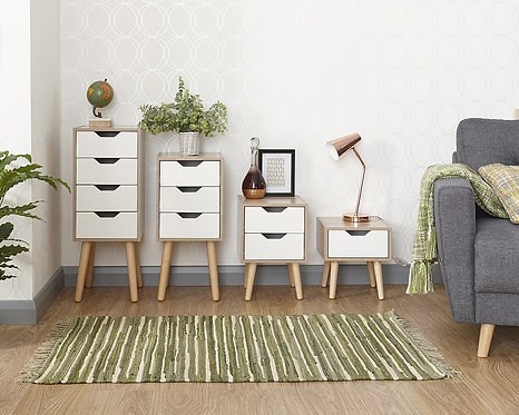 STOCKHOLM 2 Drawer Nightstand