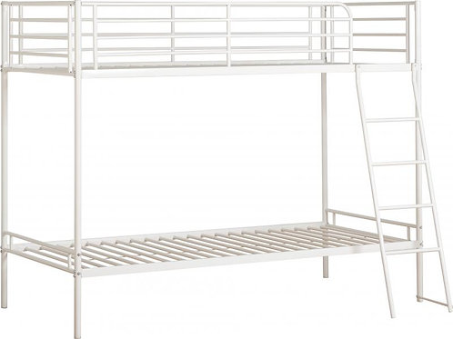 Brandon 3' Bunk Bed in White