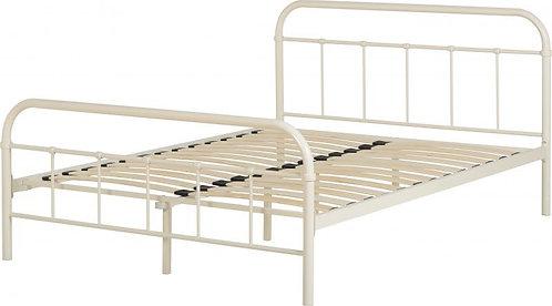 Brooklyn 3' Bed in Cream