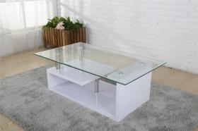 Bernard Coffee Table High Gloss White