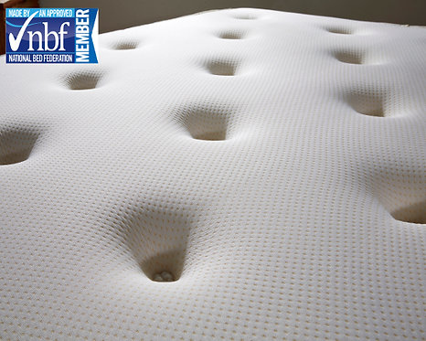 LUXURY TUFTED Bonnell Spring and Memory Foam Mattress