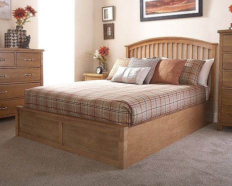 MADRID Solid Wood Storage Bedstead