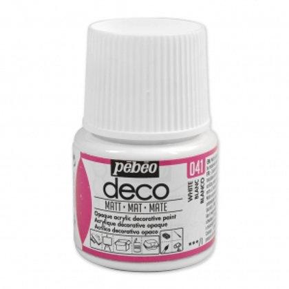 Pébéo Déco - mat - Blanc n°041
