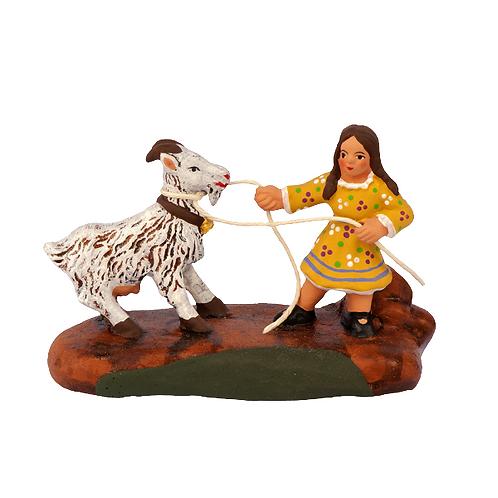 La Fillette & sa Chèvre