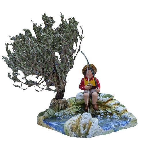 Rivière - pour l'Enfant pêcheur