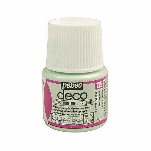 Pébéo Déco - brillant - Vert pastel n°135