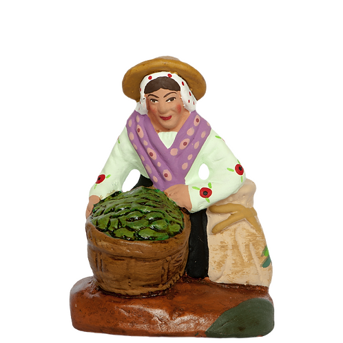 La  Femme ramassant les Olives