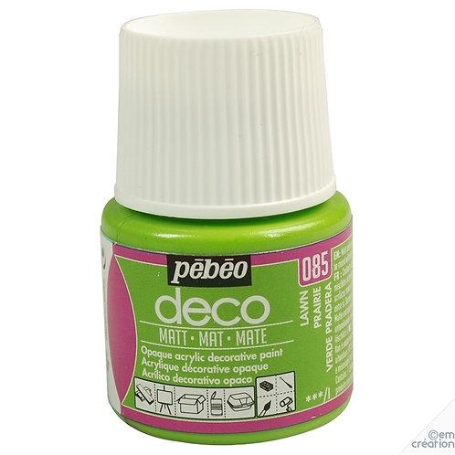 Pébéo Déco - mat - Vert prairie n°085