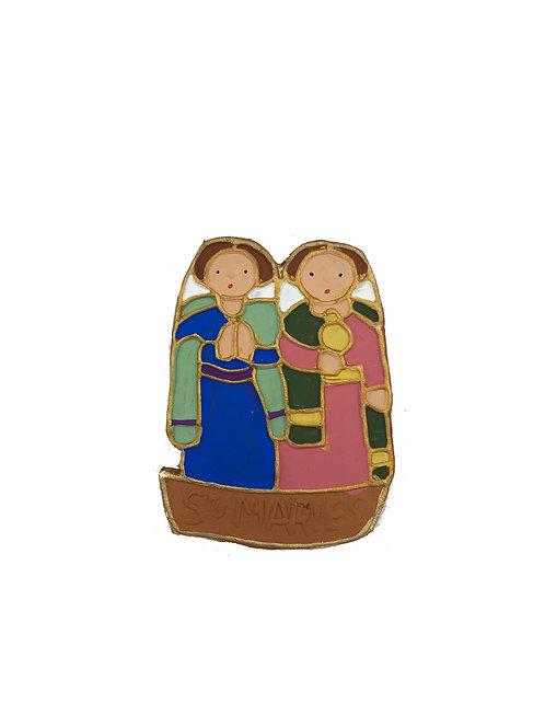Les Saintes dans la Barque