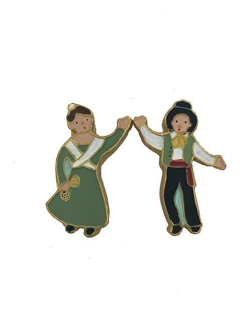 Le Couple Farandole vert
