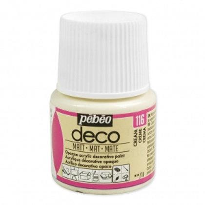 Pébéo Déco - mat - Crème n°116