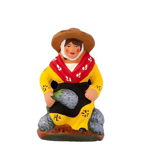 La Femme ramassant la Lavande