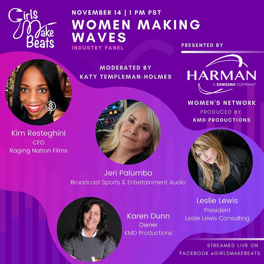 Harman's Women Network x Girls Make Beats Panel