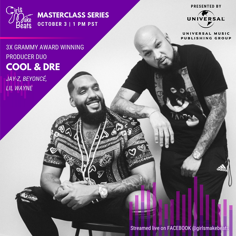 GMB Masterclass with Cool & Dre presented by UMPG