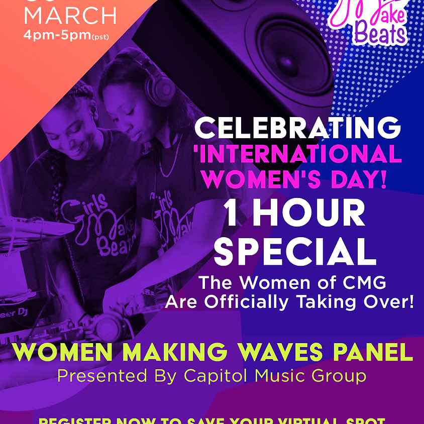 Women Making Waves Panel with Capitol Music Group