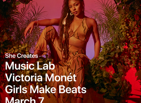 GMB teams up with Apple and Victoria Monét