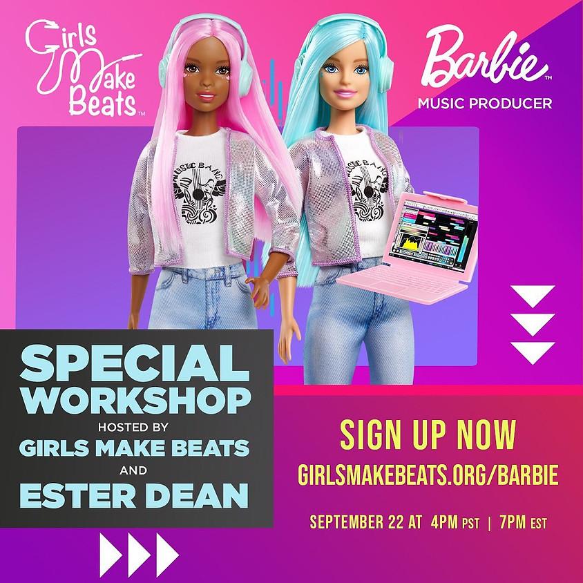 Girls Make Beats x Barbie x Ester Dean Workshop