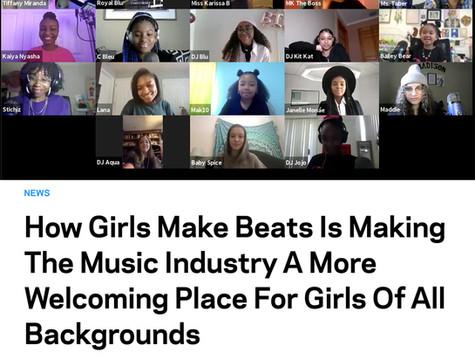 Girls Make Beats featured on GRAMMY.com