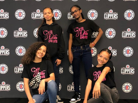 GMB DJs for LA Clippers Prom Dress Giveaway