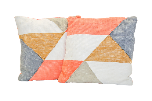 Coral Geo Pillow