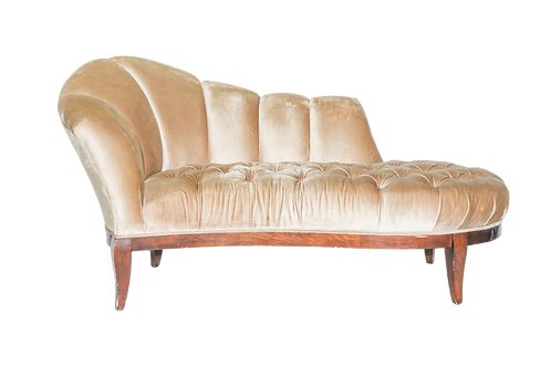 Champagne Chaise Lounge