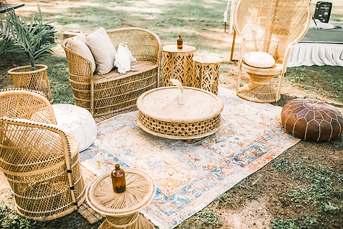 Wicker Styled Lounge