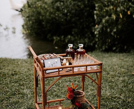 Aloha Bar Cart