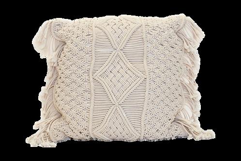 Large Macrame Pillow