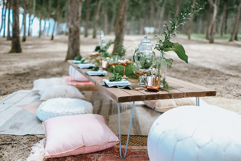 Boho Low Hairpin Table