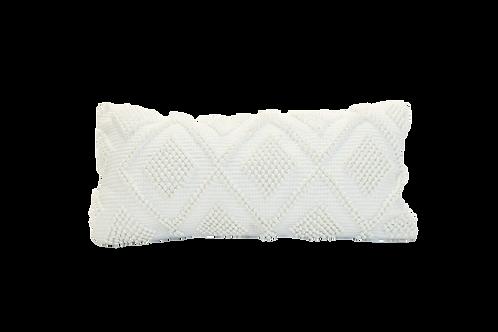 Woven Diamond Lumbar Pillow