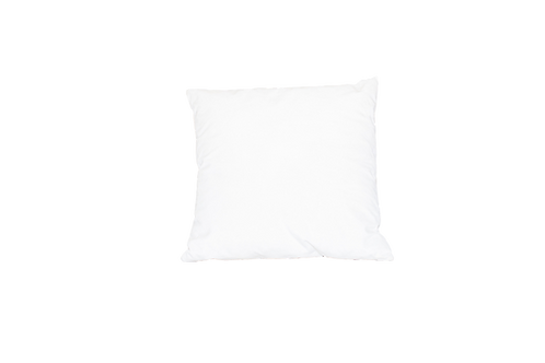 White Velvet Pillow