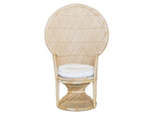 Petite Peacock Chair