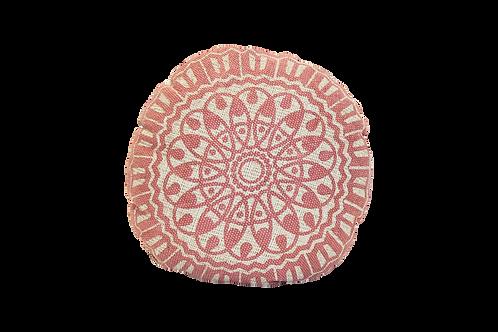 Pink Medallion Pillow