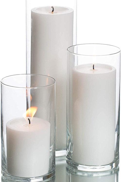 Candle + Vase