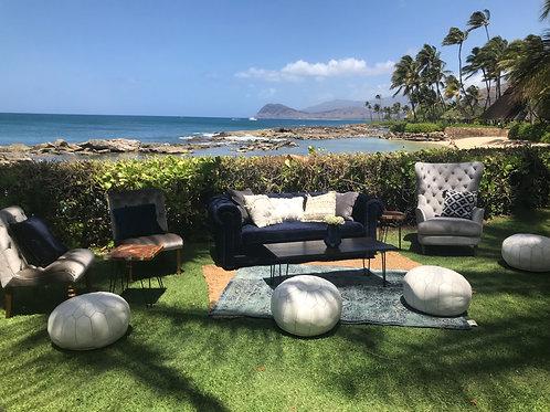 Navy & Grey Styled Lounge