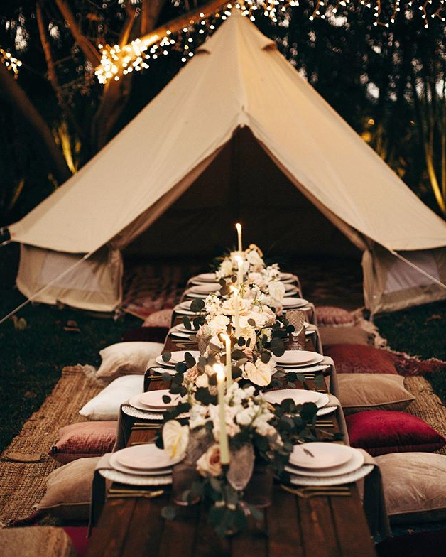 Styled Picnic on the North Shore