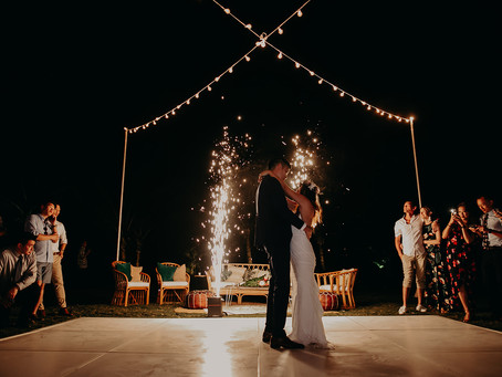 Daphne & David's Gorgeous Tropical Wedding
