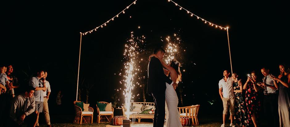 Daphne & David's Gorgeous Tropical Wedding