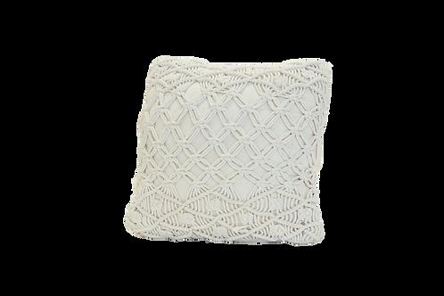 Medium Diamond Macrame Pillow