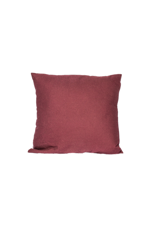 Plum Linen Pillow