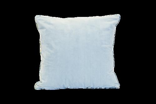 Dusty Blue Velvet Pillow