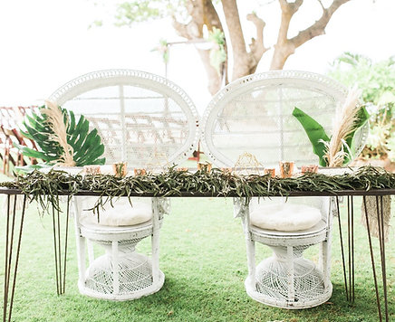 Mr & Mrs Hairpin Table