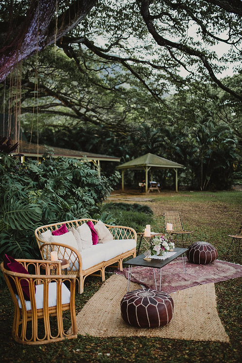 Rattan Styled Lounge