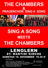 Sing a Song meets The Chambers
