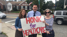 Sharon residents show their support for Obamacare