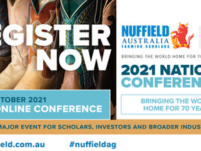 REGISTER NOW: Nuffield Virtual National Conference, 12-13 October